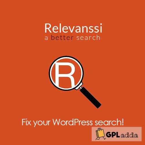 Relevanssi Premium - The WordPress Search Plugin