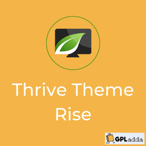 Rise by Thrive Themes - WordPress theme