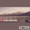 Simple Weather WordPress Shortcode & Widget