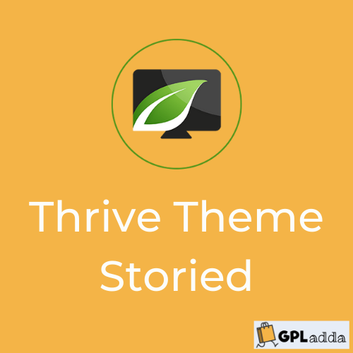 Storied by Thrive Themes - WordPress theme