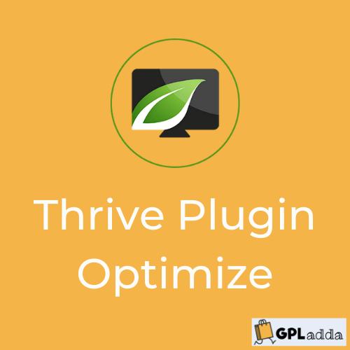 Thrive Optimize - Wordpress Plugin