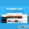 Twitter Feed - WordPress Twitter Plugin
