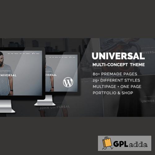 Universal - Smart Multi-Purpose WordPress Theme