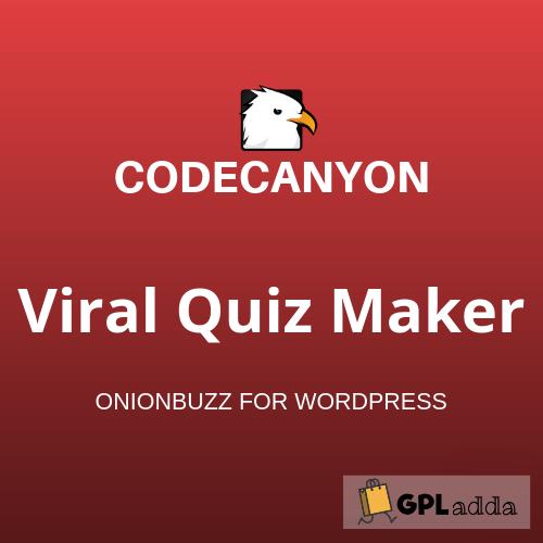 Viral Quiz Maker - OnionBuzz for WordPress