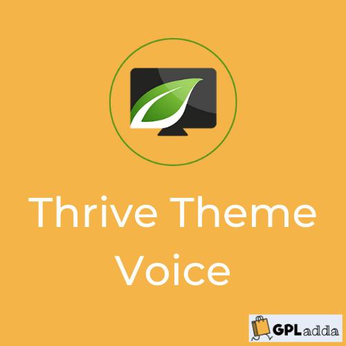 Voice by Thrive Themes - WordPress theme