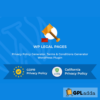 WP Legal Pages Pro - WordPress Privacy Policy Plugin