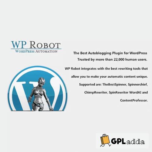 WP Robot - The Best WordPress Autoblogging Plugin