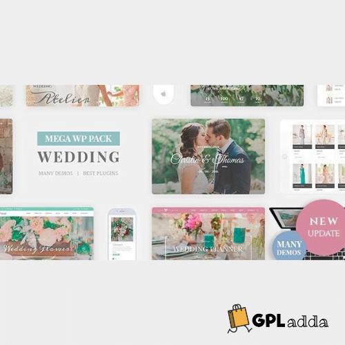 Wedding Industry - Wedding Multipurpose Couple WP Theme