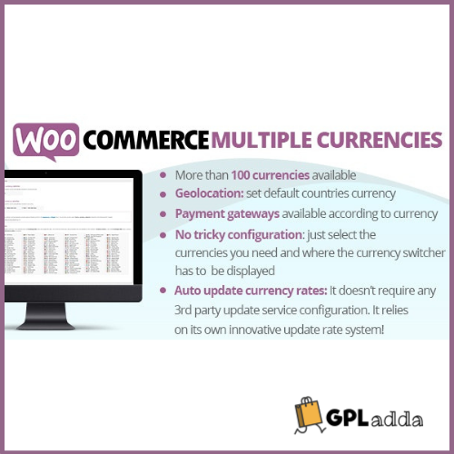 WooCommerce Multiple Currencies CodeCanyon