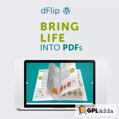 dFlip PDF FlipBook WordPress Plugin