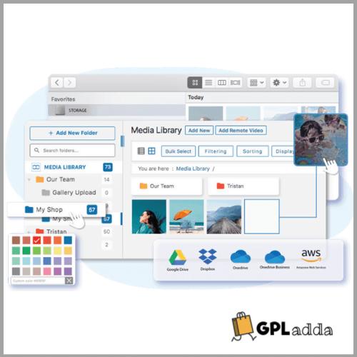 WP Media Folder - Media Manager with Folders + New Addons